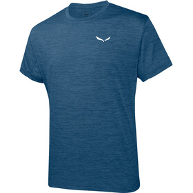 Salewa Puez Melange Dry - Camiseta manga corta Hombre - azul